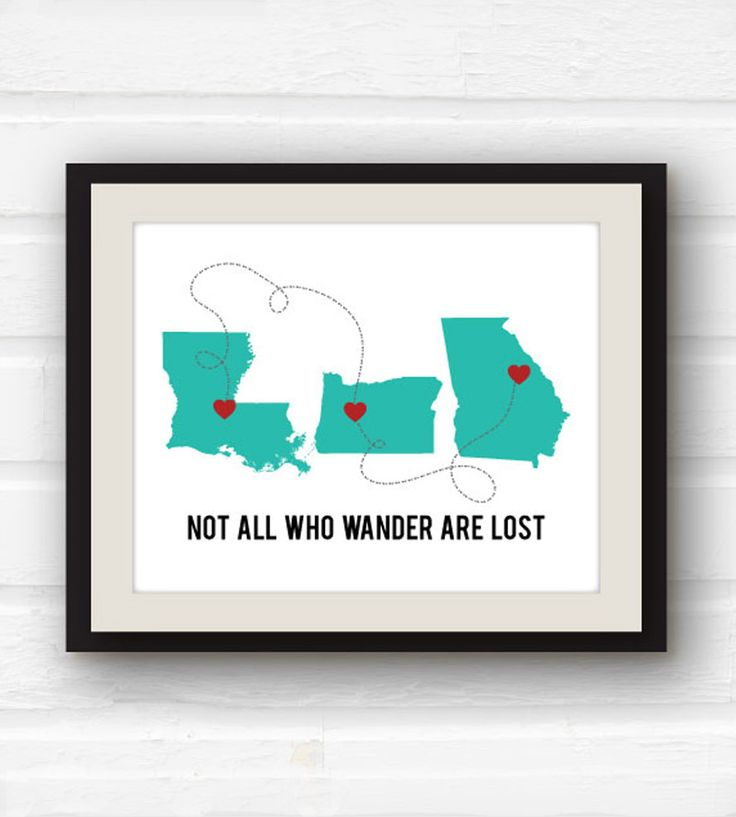Custom Not All Who Wander Are Lost Art Print