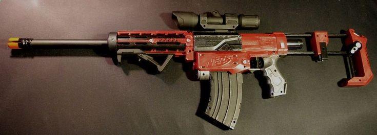 Nerf Gun Recon CS 6 Custom Painted Deadpool Destiny Cosplay   eBay