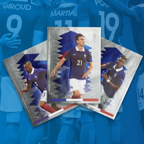 Euro 2016 France Bleus Panini Stickers Collectionner Carrefour