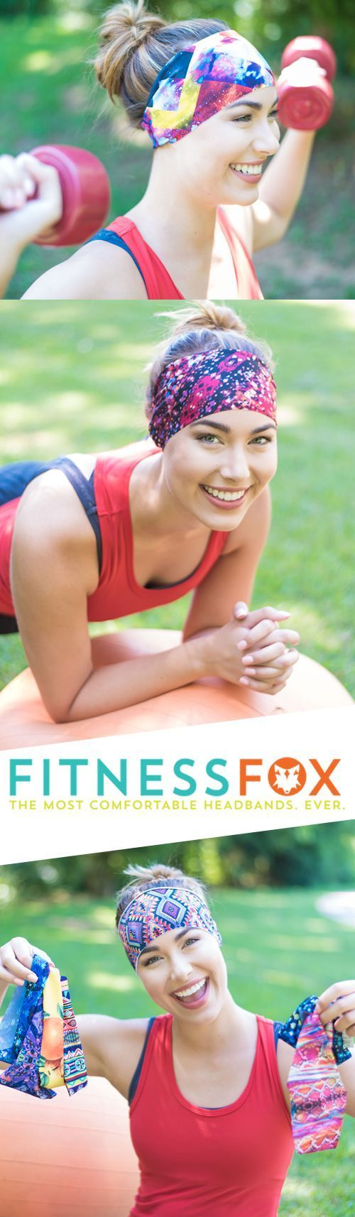 Trend Alert: Colorful, no-slip headbands are a must this fall. Add these bright and sweat absorbing headbands to your workout wardrobe to freshen up your gym look. Fitness Fox Headbands offers hundreds of prints and colors to choose from.
