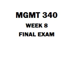 MGMT 340 Final Exam 1. (TCO 1) When developing information systems, an organization could use: 2. (TCO 1) The practice of turning over responsibility of some or all of an organization's information systems applications and operations to an outside firm is referred to as: 3. (TCO 2) Identifying, assessing, and managing the risks and day-to-day changes that occur during a project best defines which of the following project manager activities? 4. (TCO 2) Which of the following is NOT