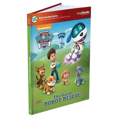 LeapFrog LeapReader Book Paw Patrol: The Great Robot Rescue