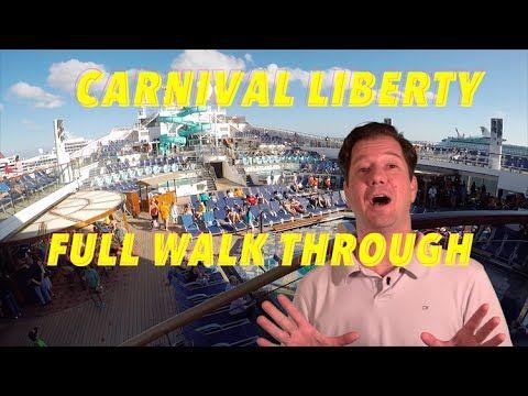 Carnival Liberty - Full Walkthrough - Ship Tour - YouTube