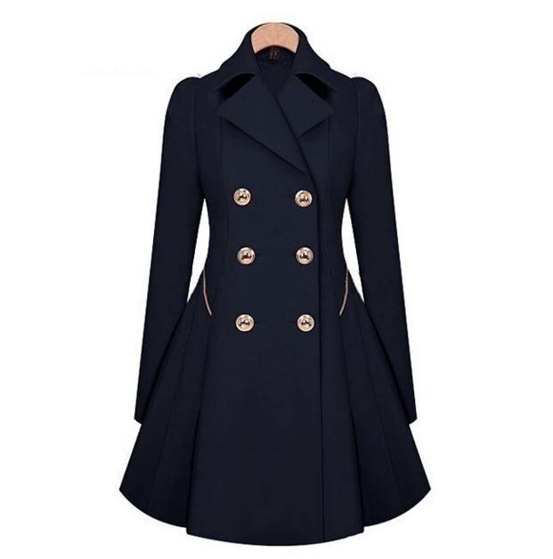 Moderní dámský podzimní kabátek s knoflíky modrý – Velikost L Na tento produkt se vztahuje nejen zajímavá sleva, ale také poštovné zdarma! Využij této výhodné nabídky a ušetři na poštovném, stejně jako to udělalo již …