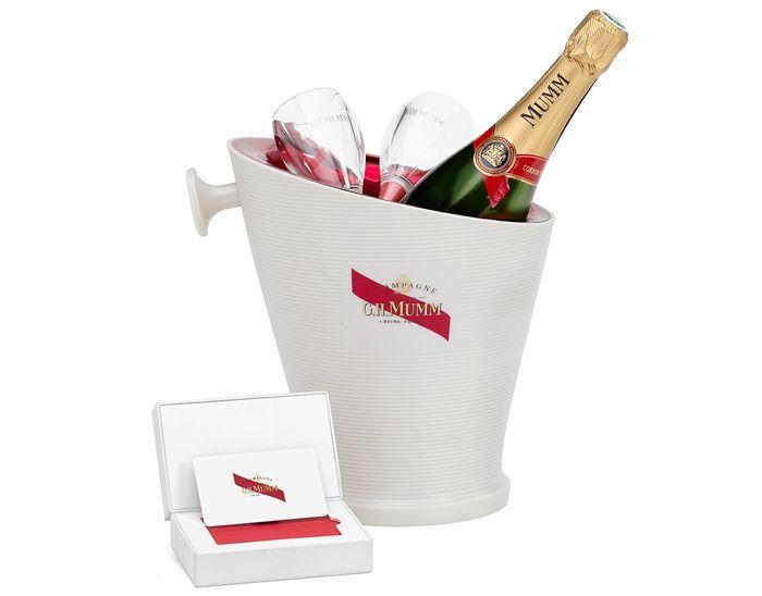 Participez au lot Bouteille Champagne MUMM sur BingoSocialMedia
