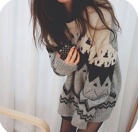 Winter sweater