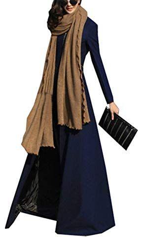 Damen mantel elegant lang