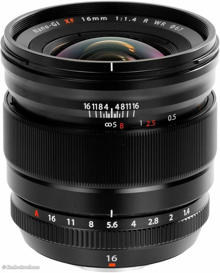 Fuji 16mm f/1.4 R WR XF