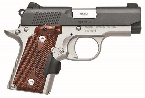 New Kimber Micro 9 Crimson Carry 9mm $829 - http://www.gungrove.com/new-kimber-micro-9-crimson-carry-9mm-829/