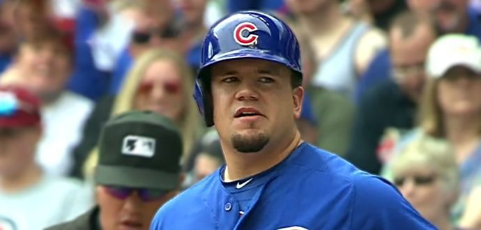 WATCH: Kyle Schwarber Broke Part of the Right Field Video Board with a Monster BP Dinger | Bleacher Nation | Chicago Cubs News, Rumors, and Commentary | Bloglovin'