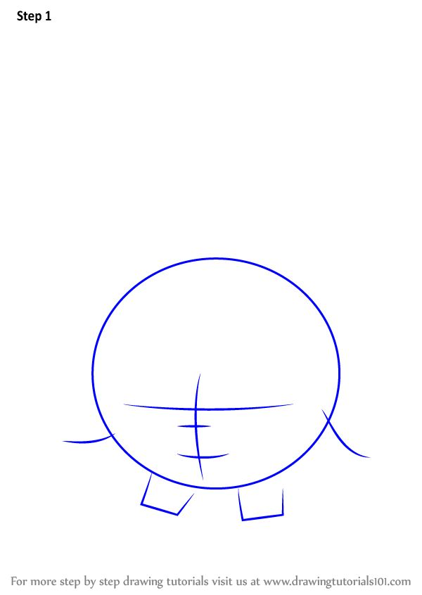 how to draw shopkins easy step by step