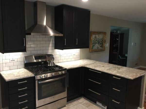 We Designed This Ikea Kitchen For A Family Who Loves To Cook And Bake The Peninsula Is Really