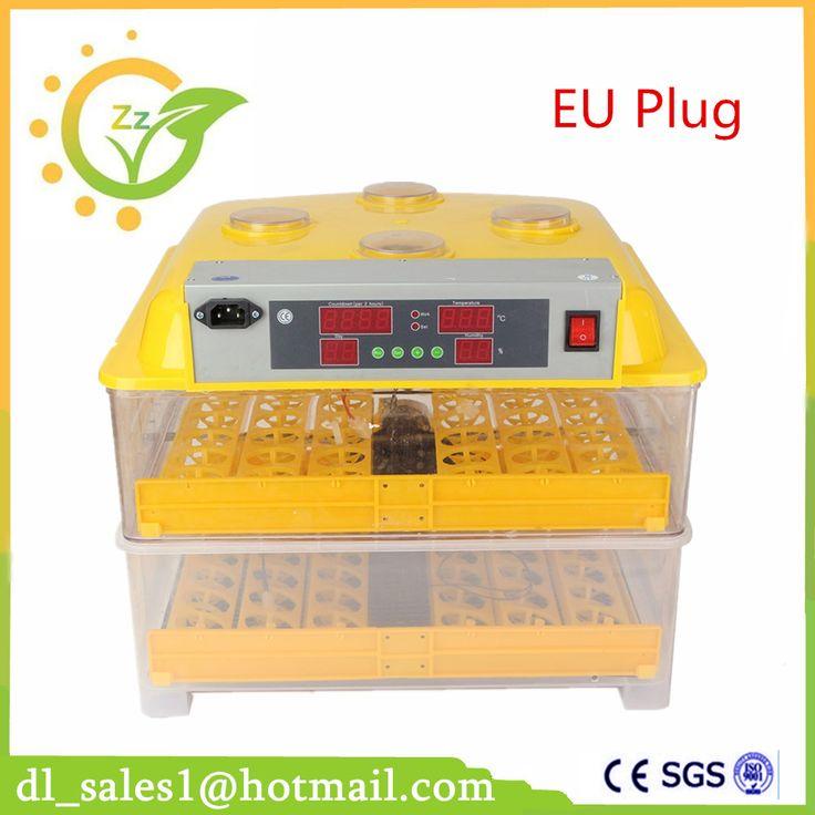 96 Eggs Mini Incubator Chicken Duck Birds Automatic Egg