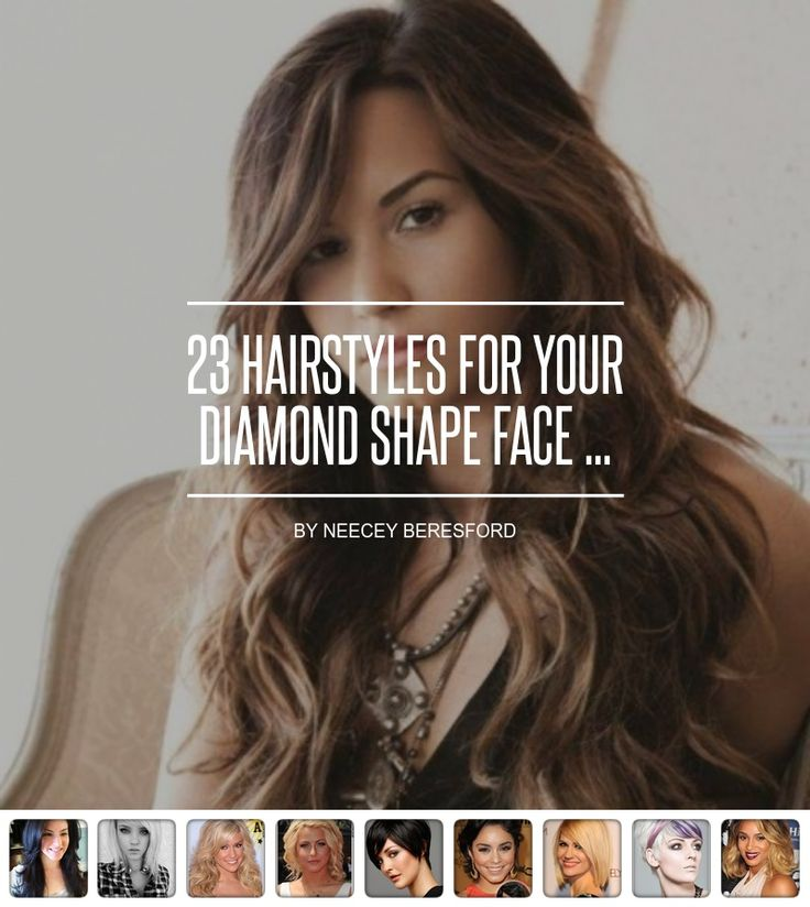 23 #Hairstyles for Your Diamond Shape Face ... - Hair