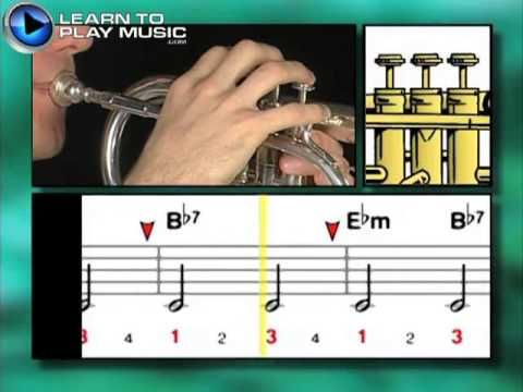 Ex001 How to Play Trumpet - Trumpet Lessons for Beginners - YouTube