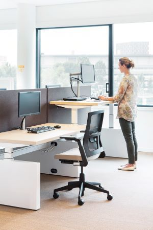 Ahrend Team_up zit-sta werkplek