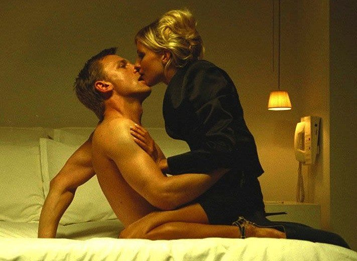 Layer Cake. That's just Daniel Craig and Sienna Miller executing an amazing movie love scene.