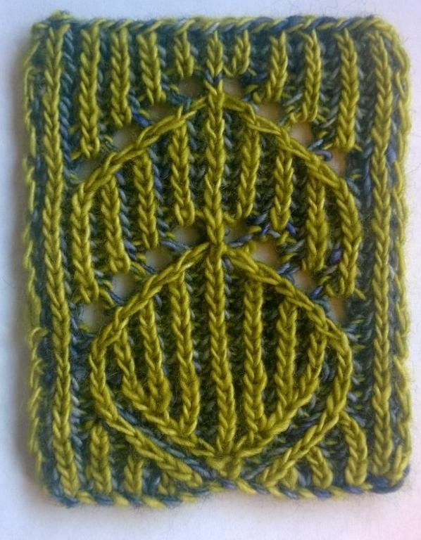 You have to see Brioche Lace Swatch by ABeddoe!