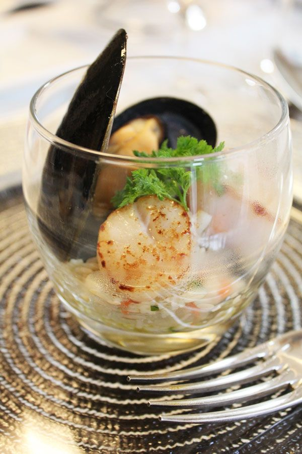 【フレンチ】オーガニック リゾーニのサラダ ミント風味☆お洒落な前菜☆