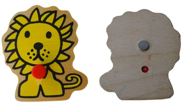 ~Koelkast-magneetjes om te maken van oude houten puzzels-leuk~