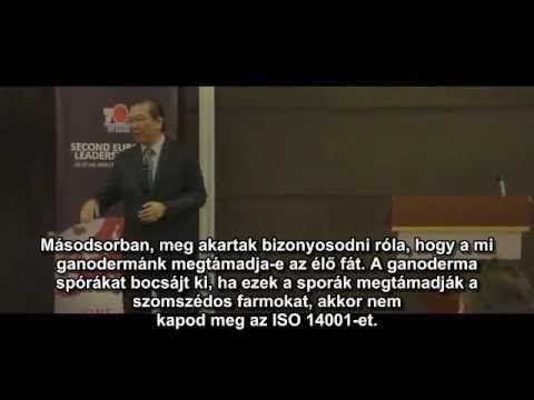 Dr Lim előadása a Ganodermáról / Founder of DXN Dato Dr Lim Siow Jin's p...
