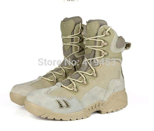 Высокое качество мужчины военные сапоги на открытом воздухе пустыни боевой армейские ботинки мужские ботинки мужская тактические полиции загрузки A092