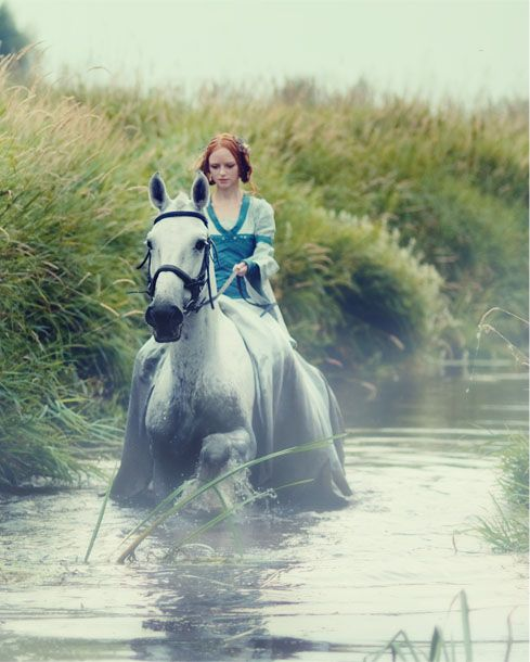 A tale as old as time- a girl and her horse... and they lived happily ever after.
