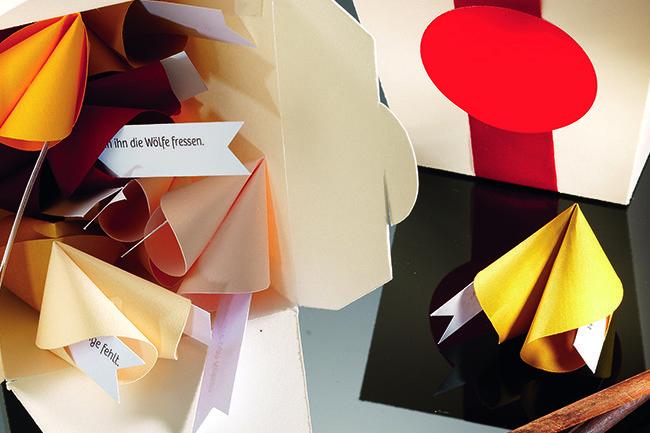 Glückskekse selber machen – Projekt aus dem Buch «Alles Papier»