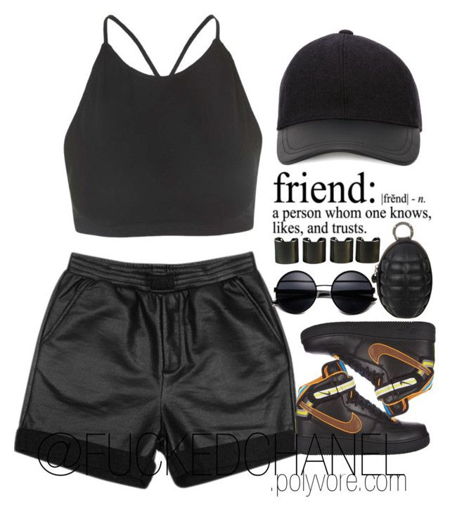 • LIKE A BOSS • by fuckedchanel on Polyvore featuring polyvore, fashion, style, Motel, Stussy, NIKE, 8 Other Reasons and Canali