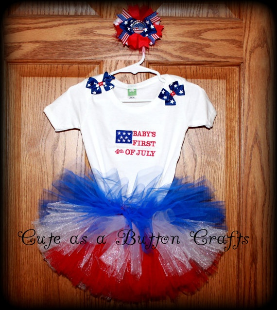 15 Best Baby S First 4th Of July Images On Pinterest