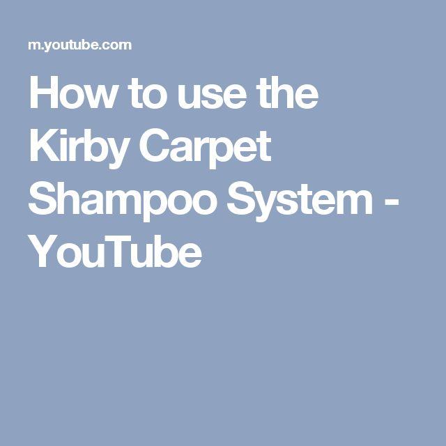 As 10 melhores ideias sobre Kirby carpet shampoo no Pinterest