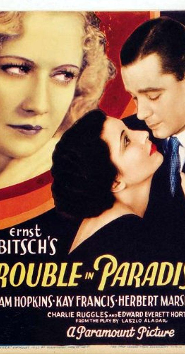 Trouble in Paradise (1932) - IMDb
