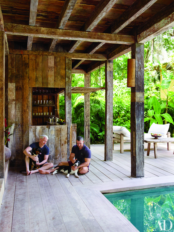 Anderson Cooper's Luxurious Brazilian Estate. The journalist and his boyfriend, Benjamin Maisani, open the doors to Casa Anderson.