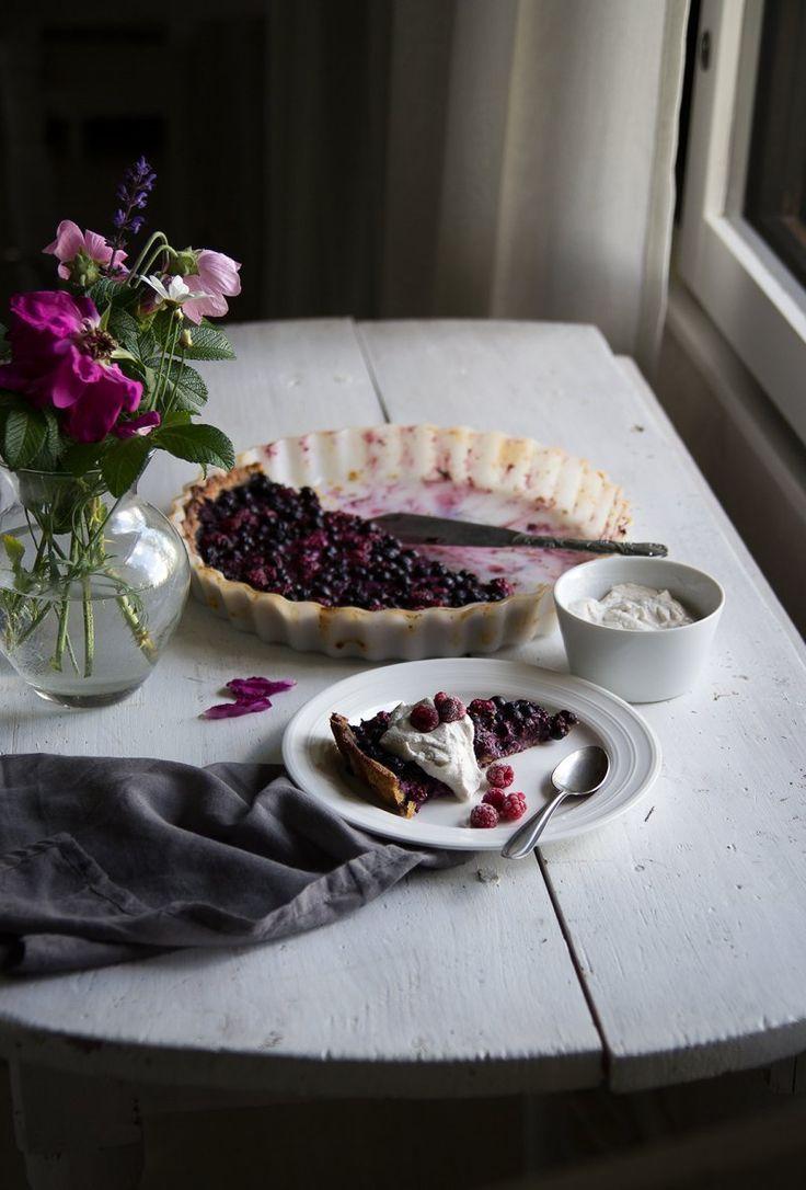 Glutenfree Blueberry Pie