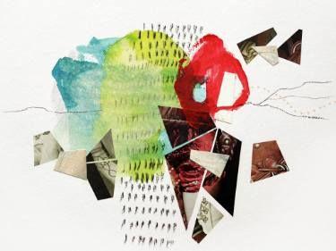 "Saatchi Art Artist Sander and Marijah; Collage, ""V.XIII.VII.XVI - 23.09.16"" #art"