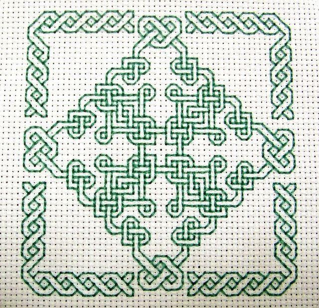 Best Cross Stitch Celtic Knots Images On