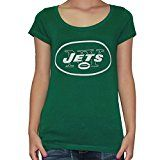 Womens NFL New York Jets T Shirt by Pink Victoria's Secret M Green