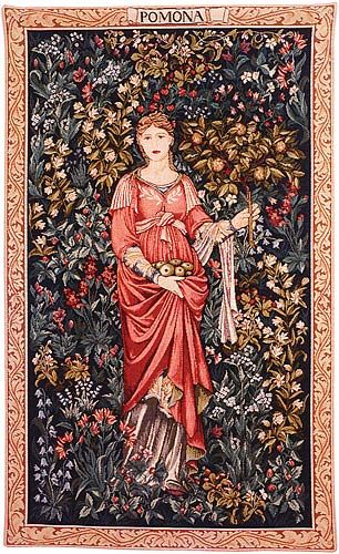 William Morris and Edward Burne-Jones - The Pomona Tapestry - c.1885