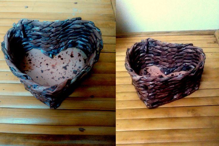 #handmade #wiklina #papierowa #serce