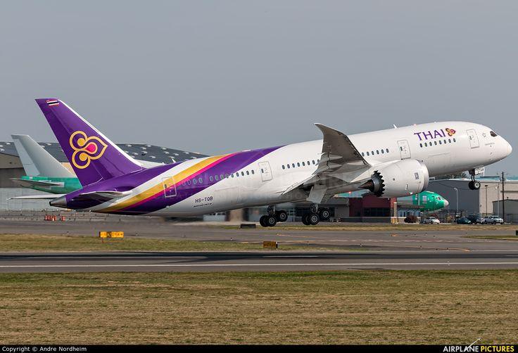 Thai Airways HS-TQB aircraft at Everett - Snohomish County / Paine Field photo
