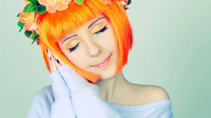 Spring makeup | Весенний макияж от апельсинки Анастасия Шпагина