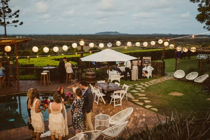 Fig Tree Restaurant wedding Byron Bay - photography by Todd Hunter McGaw
