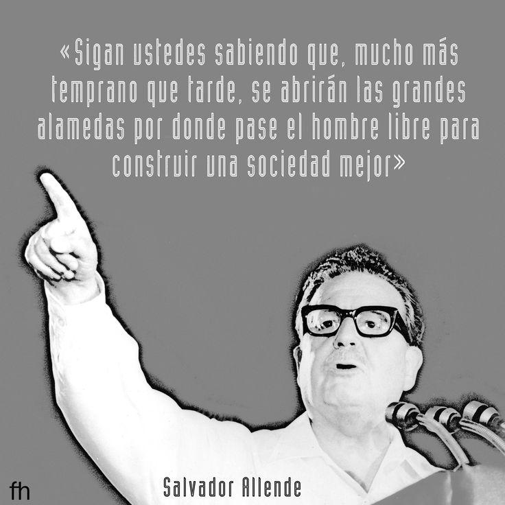 Salvador Allende [Radio Magallanes, 11 de septiembre de 1973]