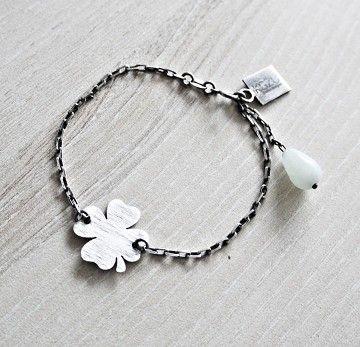 KSZU- Silver Lucky Bracelet [pr925]