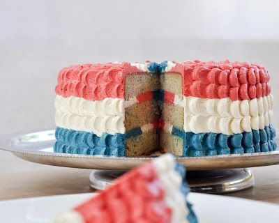 Red White And Blue Cake Recipes
