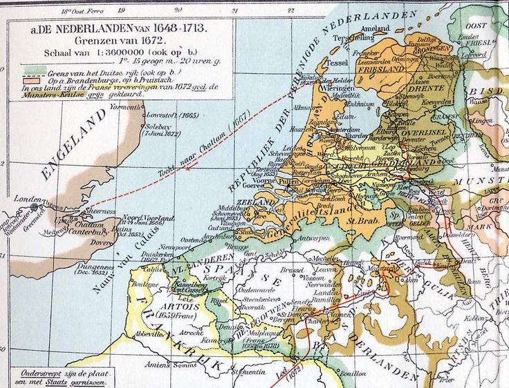 oude kaart nederland