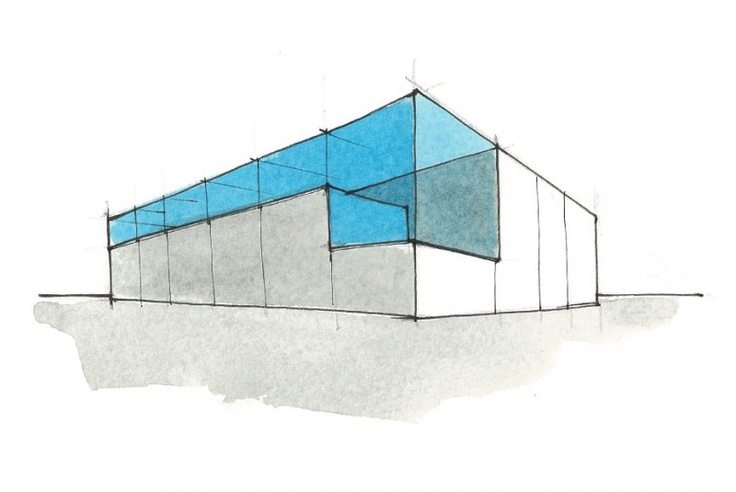 watercolor - building recycle http://www.lad.roma.it/html_version/?page_id=2232