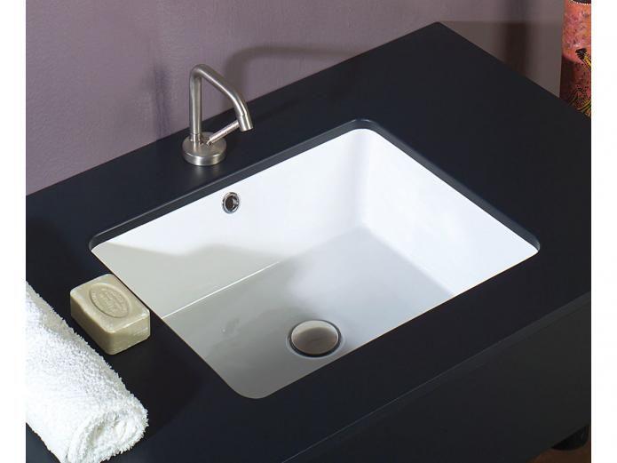 AXA Sink Dbl Glazed Under Counter Basin