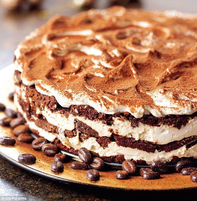 All-star Nigella Christmas: Tiramisu layer cake | Daily Mail Online