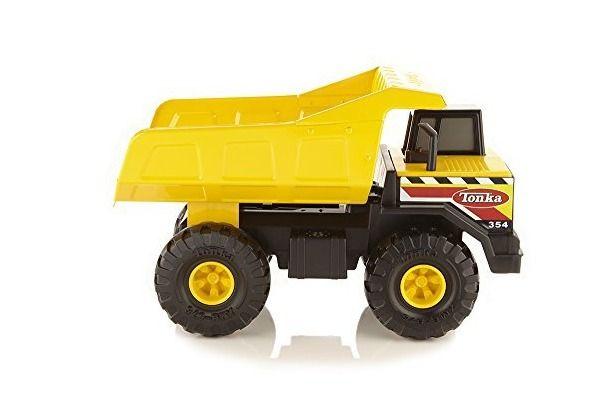 Tonka Dump Truck Steel Mighty Vehicle Toy Classic Kids Play Toys Trucks New #Tonka